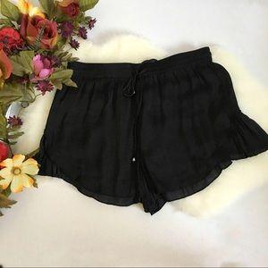 Zara Trafaluc Black Shorts (XS)